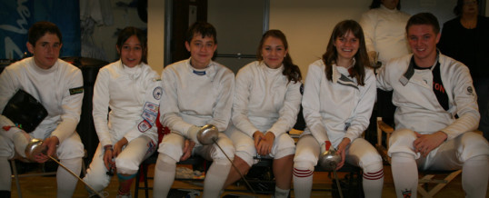 Alliance Mega Epee Camp Makes Local Houston News